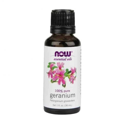 Now Foods, 100% Pure Geranium Essential Oil, 30ml