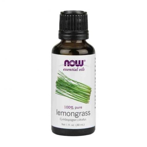 Now Foods, 100% Pure Lemongrass Essential Oil, 30ml
