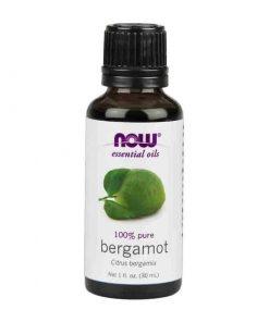 Now Foods, 100% Pure Bergamot Essential Oil, 30ml