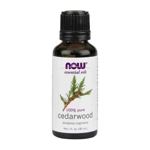 Now Foods, 100% Pure Cedarwood Essential Oil, 30ml