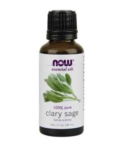 Now Foods, 100% Pure Clary Sage Essential Oil, 30ml