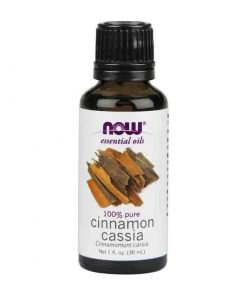 Now Foods, 100% Pure Cinnamon Cassia Essential Oil, 30ml