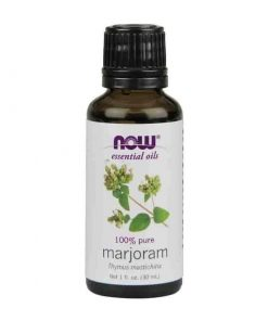 Now Foods, 100% Pure Marjoram Essential Oil, 30ml