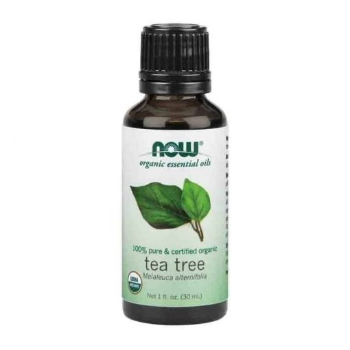 Now Foods, 100% Pure Tea Tree Essential Oil, Certified Organic, 30ml