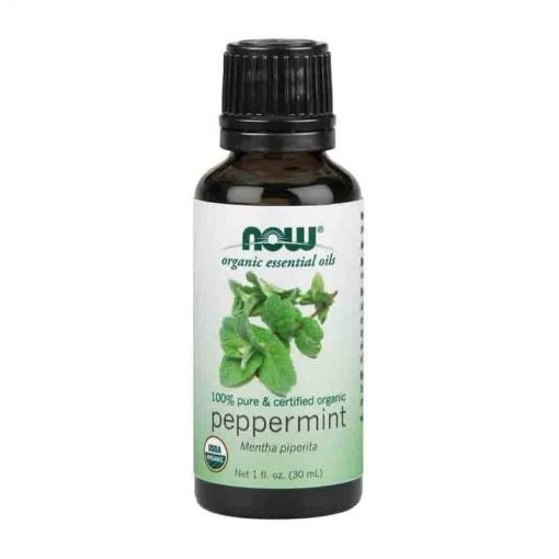 Now Foods, 100% Pure Peppermint Essential Oil, Certified Organic, 30ml