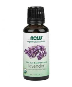 Now Foods, 100% Pure Lavender Essential Oil, Certified Organic, 30ml