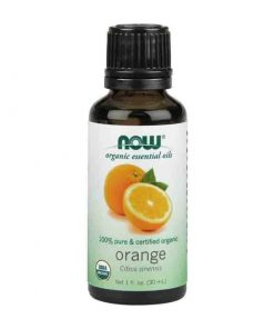 Now Foods, 100% Pure Orange Essential Oil, Certified Organic, 30ml