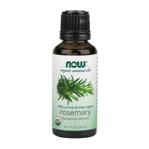 Now Foods, 100% Pure Rosemary Essential Oil, Certified Organic, 30ml