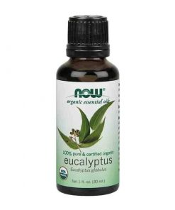 Now Foods, 100% Pure Eucalyptus Essential Oil, Certified Organic, 30ml
