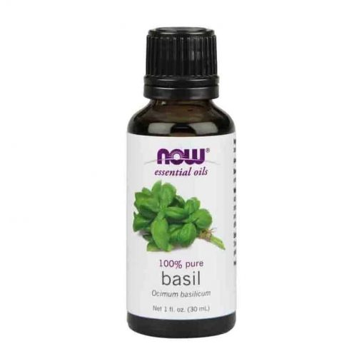 Now Foods, 100% Pure Basil Essential Oil, 30ml