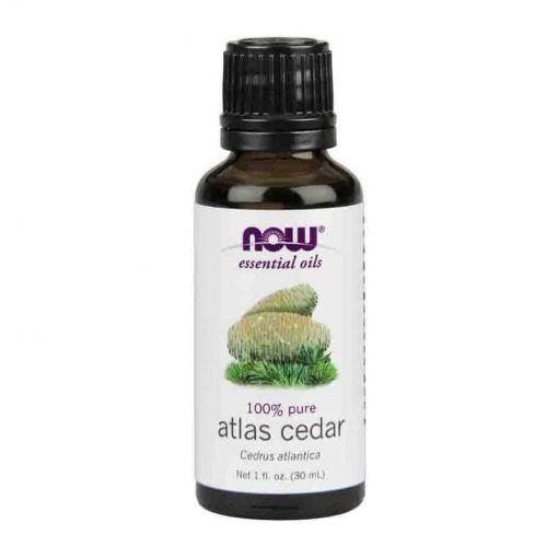 Now Foods, 100% Pure Atlas Cedar Essential Oil, 30ml