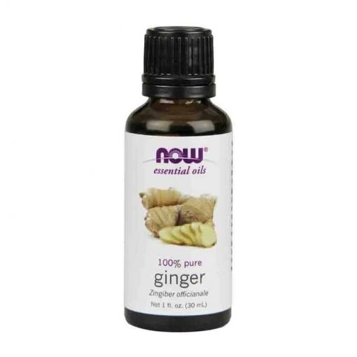 Now Foods, 100% Pure Ginger Essential Oil, 30ml
