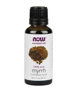 Now Foods, 100% Pure Myrrh Essential Oil, 30ml