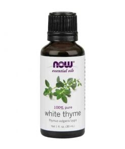 Now Foods, 100% Pure White Thyme Essential Oil, 30ml