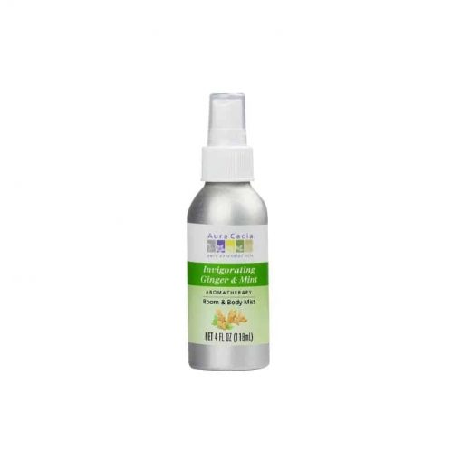 Aura Cacia, Ginger and Mint Aromatherapy Mist Spray