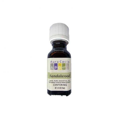 Aura Cacia, Pure Sandalwood Essential Oil, 15ml