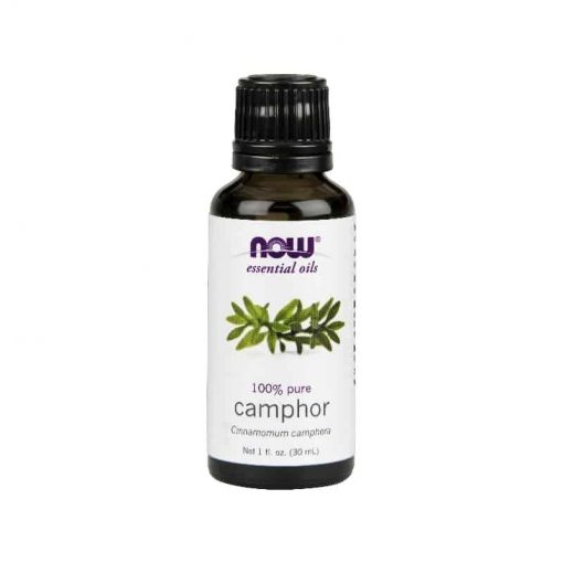 NOW, 100% Pure Camphor Essential Oil, 30ml