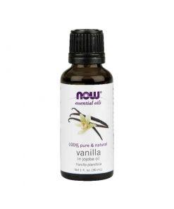 NOW, Pure Vanilla in Jojoba essential oil blend
