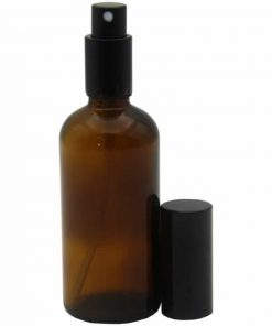 Amber Glass Spray Bottle