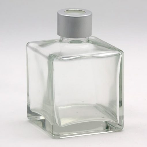 Essential Oil Reed Diffuser Bottle w Gray Collar