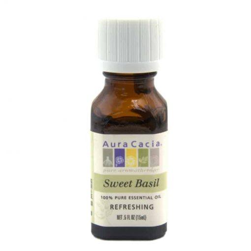 Aura Cacia Sweet Basil Essential Oil