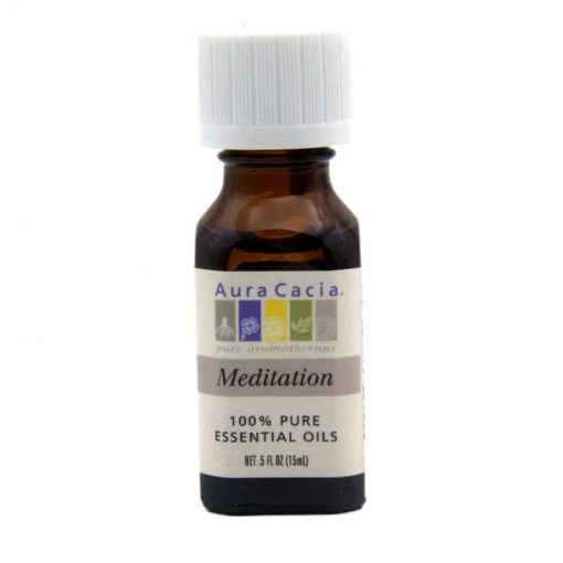 Aura Cacia Meditation Essential Oils Blend