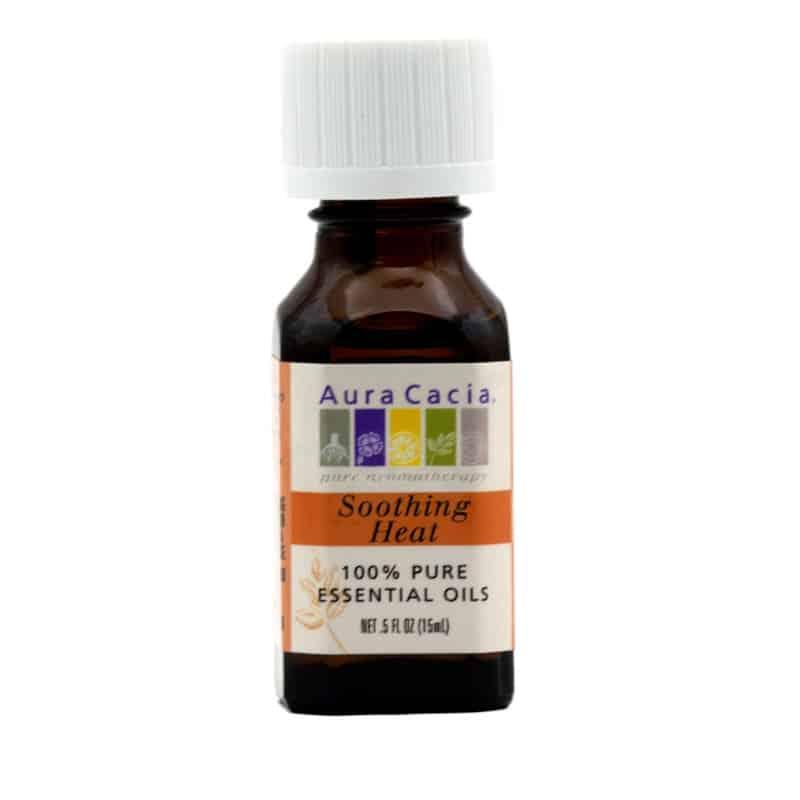 Aura Cacia Soothing Heat Essential Oils Blend