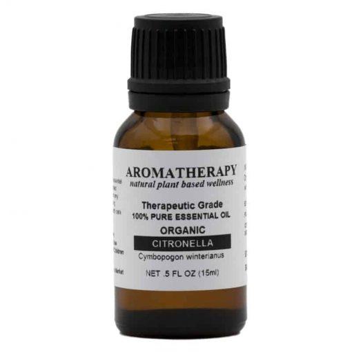 Aromatherapy Organic Citronella Essential Oil