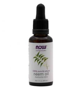 Now Foods, 100% Pure Neem Oil, 30ml