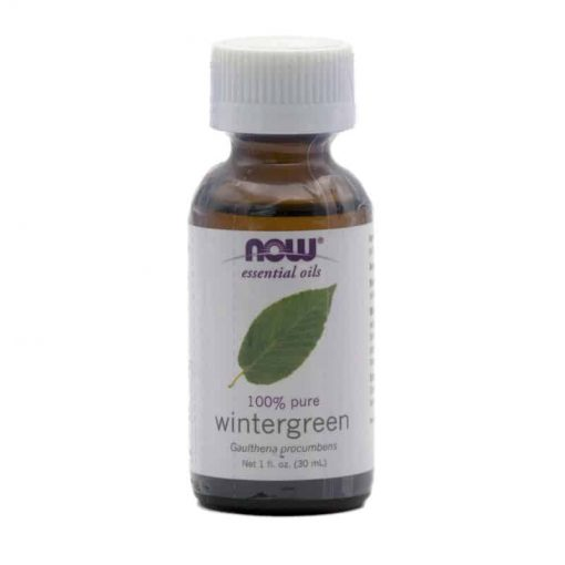 NOW, 100% Pure Wintergreen Essential Oil, 30ml