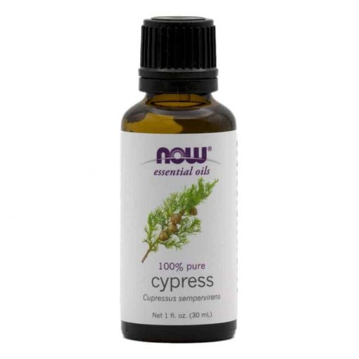 NOW, 100% Pure Cypress Essential Oil, 30ml