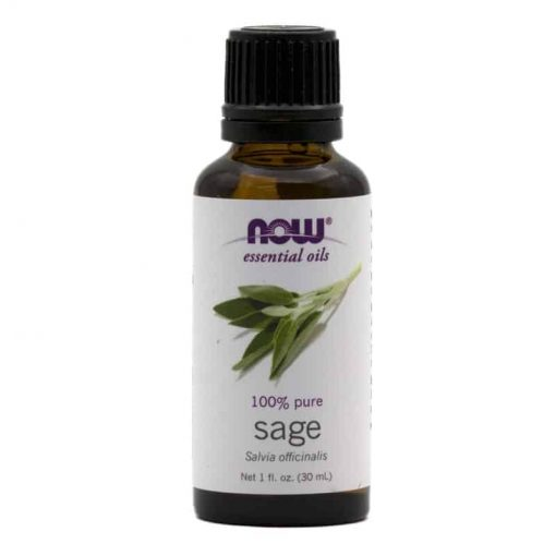 NOW, 100% Pure Sage Essential Oil, 30ml