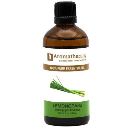 Aromatherapy Lemongrass Essential Oil 100ml