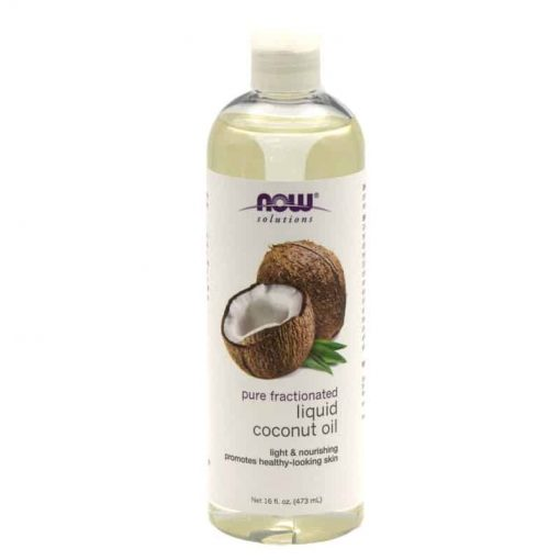 NOW, Pure Fractionated Coconut Oil