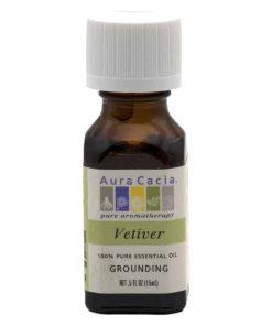 Aura Cacia Vetiver Essential Oil
