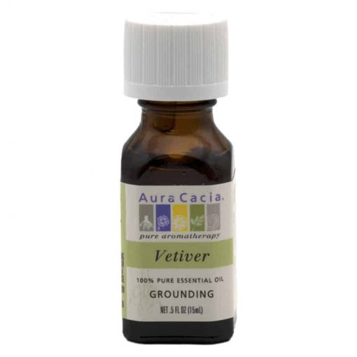 Aura Cacia Vetiver Essential Oil