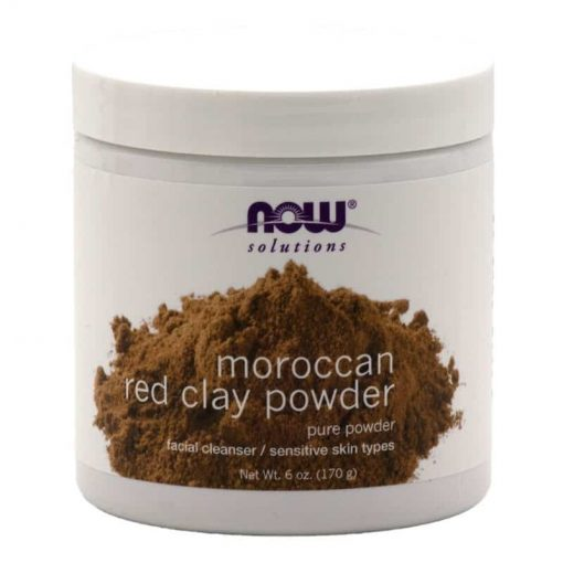 NOW Solutions Pure Moroccan Red Clay Powder