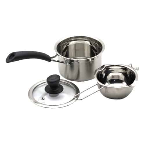 Double Boiler Pot Set, Stainless Steel