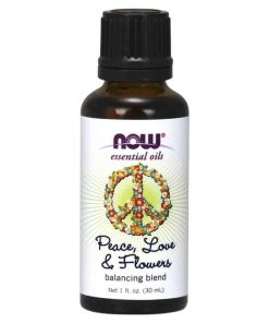 NOW, Peace Love and Flowers, Balancing Blend, 30ml