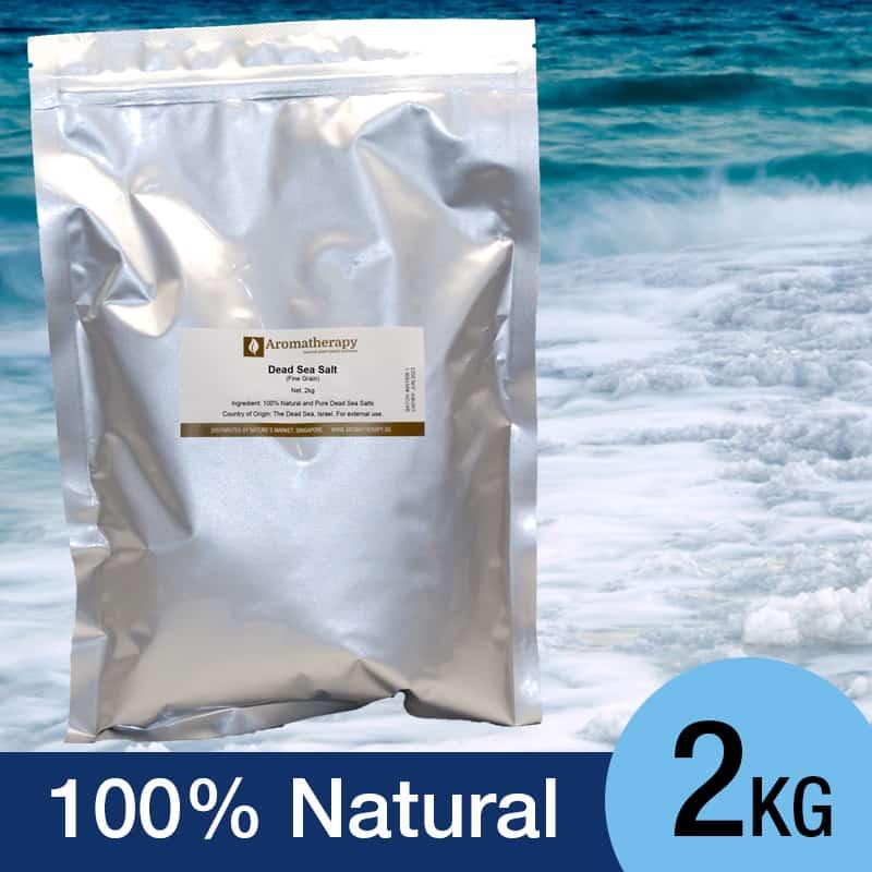 Aromatherapy Dead Sea Salt, 2kg - Aromatherapy Singapore